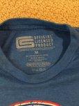 画像3: sold フォード・マスタング・シェルビー・コブラ エンブレムTシャツ ブルー M (3)