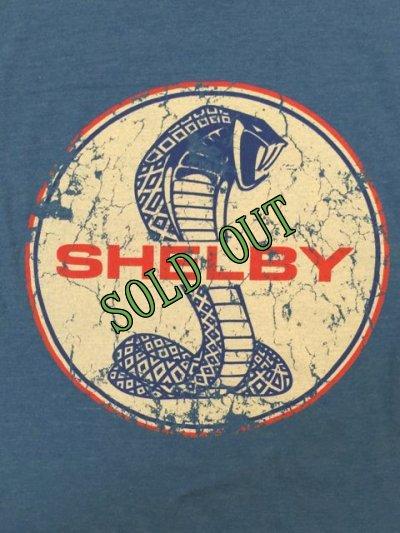 画像4: sold フォード・マスタング・シェルビー・コブラ エンブレムTシャツ ブルー M