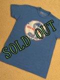 sold フォード・マスタング・シェルビー・コブラ エンブレムTシャツ ブルー M
