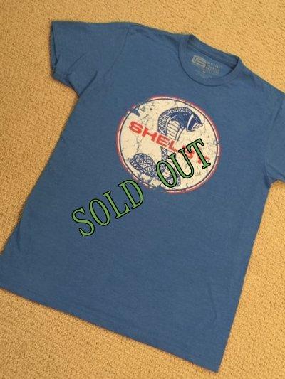 画像1: sold フォード・マスタング・シェルビー・コブラ エンブレムTシャツ ブルー M