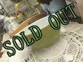 sold パイレックス ミルクグラス シンデレラボウル(S) モスグリーン 1 1/2パイント(710ml)