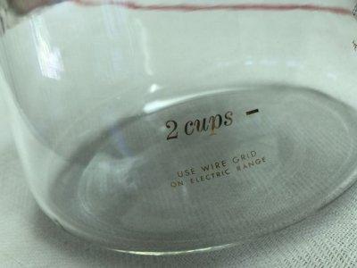 画像2: コーニング カラフェ / ガラスポット 4カップ