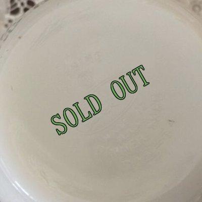 画像3: sold コーニング ミルクグラスレストランウエア レッドバンド・シリーズ クリーマー