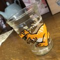 Welch's Vintage  Tyrannosaurus Jelly Juice Glass 1988