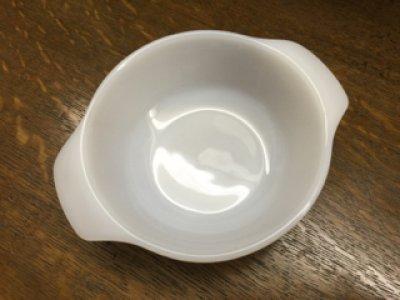 画像2: ファイヤーキング ミルクグラス  ミニキャセロール 12オンス(約350ml)