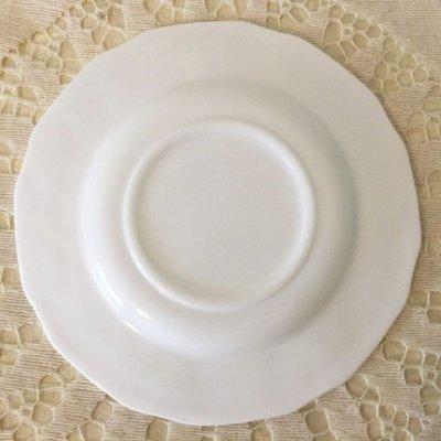 画像2: インディアナグラス ミルクグラス ハーベストグレープ ソーサー