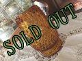 sold インディアナグラス アンバーのフェアリーランプ キャンドルホルダー