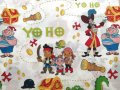 Vintage , Used Jack and Never Land Pirates,Twin Flat Sheet