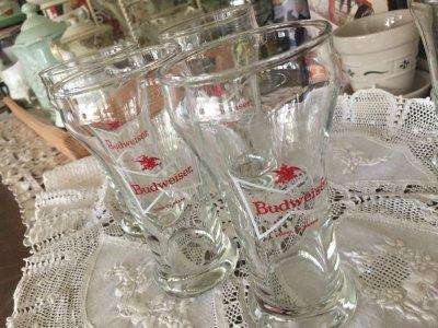 画像3: Budweiser King of Beers white ribbon Glass