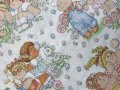 Vintage USED Cabbage Patch Kids 1983 Twin Flat Sheet
