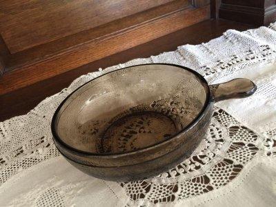 画像1: Brown Glass, French Casserole USA