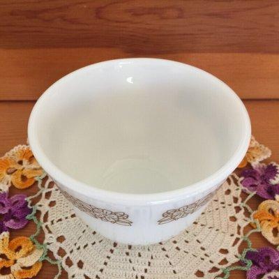 画像5: パイレックス ミルクグラス ウッドランド ぽってりカップ