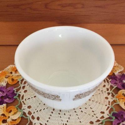 画像3: パイレックス ミルクグラス ウッドランド ぽってりカップ