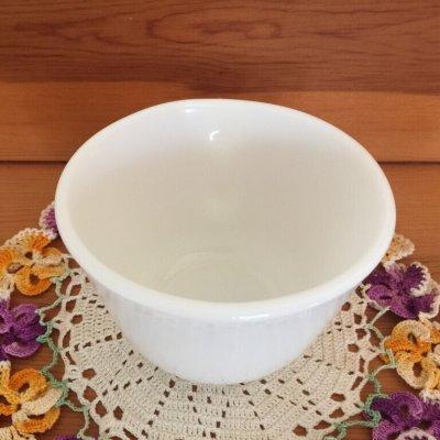 画像3: コーニング ミルクグラス ぽってりカップ