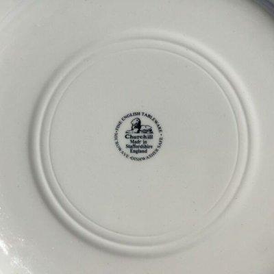画像5: チャーチル社 ブルーウィロー ディナープレート made in England