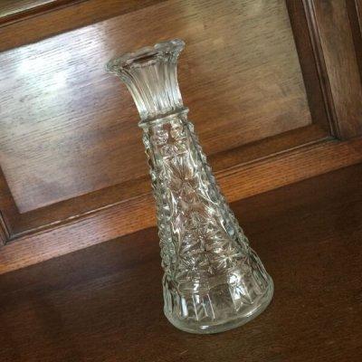 画像1: Anchor Hocking, Clear Glass Mini Vase Stars and Bars