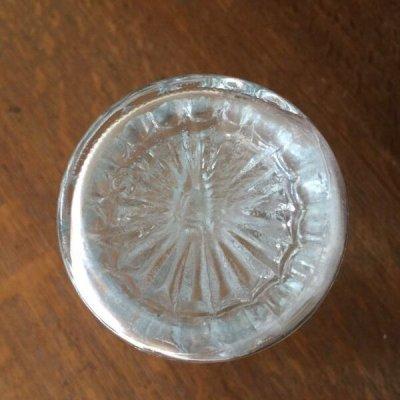 画像4: Anchor Hocking, Clear Glass Mini Vase Stars and Bars