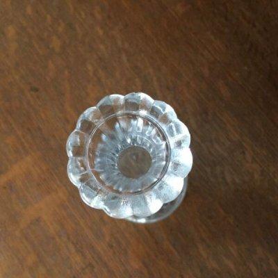 画像3: Anchor Hocking, Clear Glass Mini Vase Stars and Bars