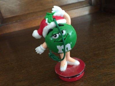 画像1: M&M's クリスマス・オーナメント グリーン 1998年 #6