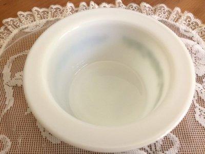 画像4: パイレックス スプリングブロッサム・クレイジーデイジー ミルクグラス バター・タブ・ディッシュ