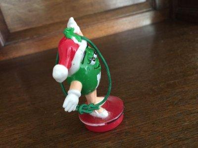 画像4: M&M's クリスマス・オーナメント グリーン 1998年 #6