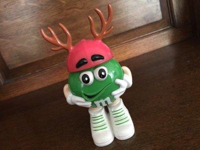 画像1: M&M's クリスマス人形 グリーン #7