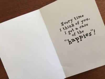 画像2: Vintage ピーナッツ 未使用 多分バレンタイン・カード 封筒付
