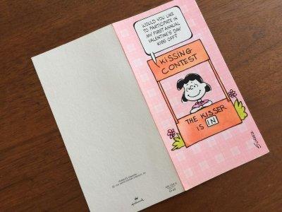 画像3: Vintage ピーナッツ 未使用 バレンタイン・カード