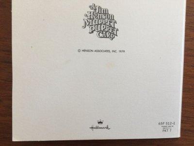 画像5: Vintage マペット・カード 封筒付 米国製 1979
