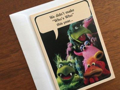 画像1: Vintage マペット・カード 封筒付 米国製 1979