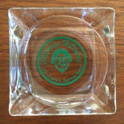 画像1: ちょい難品 ビンテージ クリアーグラス灰皿 ATLANTA BILTMORE HOTEL