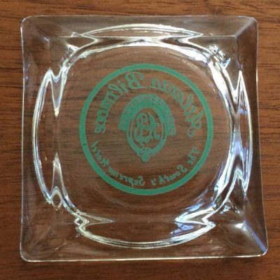画像2: ちょい難品 ビンテージ クリアーグラス灰皿 ATLANTA BILTMORE HOTEL
