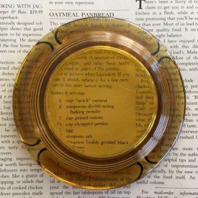 画像2: ビンテージ 灰皿 アンバー・カラー