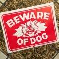 「猛犬注意」新品ソフトプラスティックシート