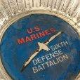 画像3: ビンテージ 灰皿 クリアー U.S. Maines アメリカ海兵隊第六防衛大隊 (ミネソタ州セントポール)