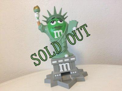 画像1: sold M&M's NY 自由の女神 ディスペンサー