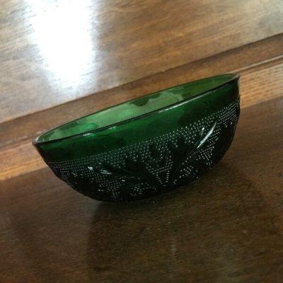画像1: インディアナグラス ティアラ・サンドイッチ グリーン フルーツ・ボウル