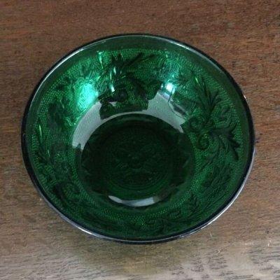 画像3: インディアナグラス ティアラ・サンドイッチ グリーン フルーツ・ボウル