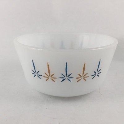 画像2: ファイヤーキング ミルクグラス キャンドルグロウ カスタードカップ