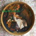 ノーマン・ロックウェル ロックウェルの描く女性再発見コレクション1984年 夢見る屋根裏部屋(1923)