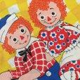 画像3: ビンテージ ラガディ・アンとアンディ ツイン 枕カバー  米国製 1970s'