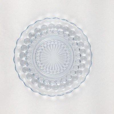画像1: ファイヤーキング バブル サファイヤブルー ブレッド&バタープレート