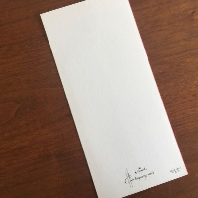 画像3: ビンテージ 未使用 ホールマーク ピンク バースデー・カード 封筒付