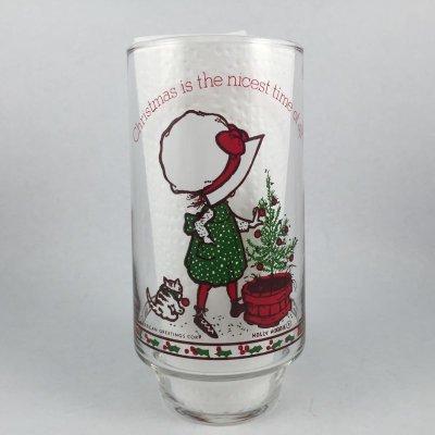 画像1: ビンテージ  コカコーラ ホーリーホビー クリスマスタンブラー 1970s' #2