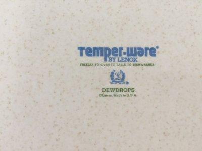 画像3: レノックス Temper-Ware 霧の滴 ディナー・プレート アメリカ製