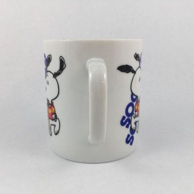 画像2: スヌーピー  1965年陶器マグ サッカー(ユナイテッドフューチャー・シンジケート社)