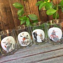 他の写真3: sold ノーマン・ロックウェル「サタデー・イブニング・ポスト」グラスウェア・コレクション サーカス・ストロングマン