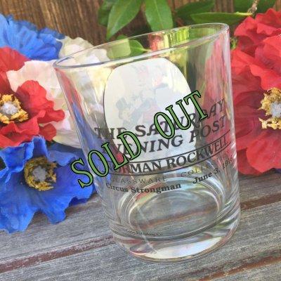 画像2: sold ノーマン・ロックウェル「サタデー・イブニング・ポスト」グラスウェア・コレクション サーカス・ストロングマン