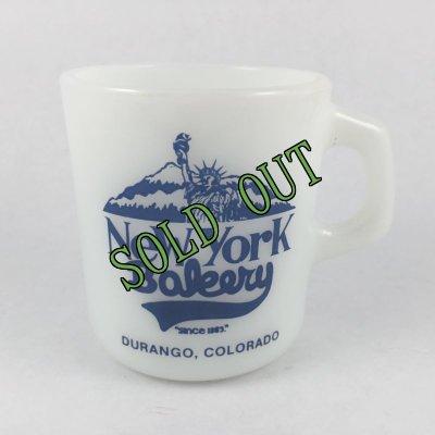 画像1: ギャラクシー ニューヨーク・ベイカリー ミルクグラス マグ アメリカ製