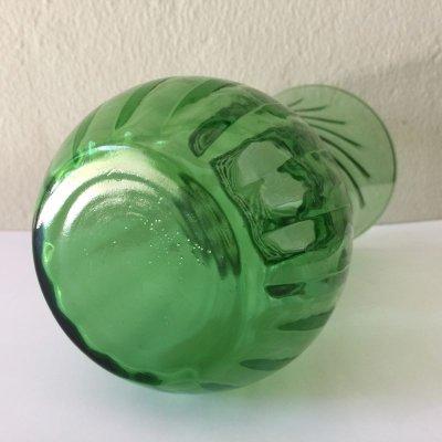 画像4: ファイヤーキング フォレストグリーン スワール 花瓶